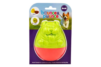 Tippin Treat Dispenser Dog & Puppy Toy by Bounce & Pounce