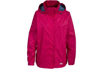 Trespass Womens/Ladies Lanna II Waterproof Jacket (Cerise)
