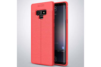 For Samsung Galaxy Note 9 Case TPU Shockproof Slim Back Mobile Phone Cover Red