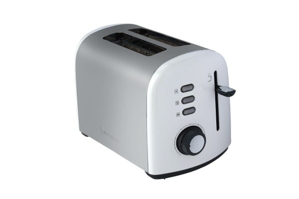 Westinghouse 2 Slice Toaster - Pearl White