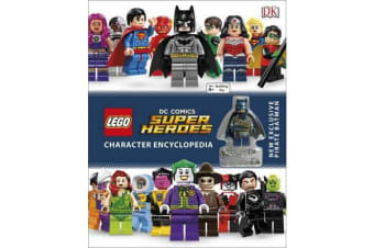 LEGO DC Super Heroes Character Encyclopedia - Includes Exclusive Pirate Batman Minifigure