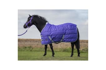Mark Todd Pony Stable Rug (Purple/Grey) (4ft 9inch)