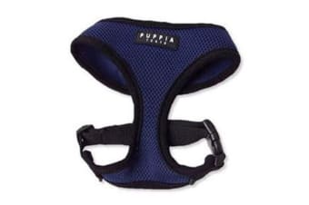 Puppia Soft Mesh Dog Harness Royal Blue - L
