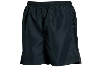 Tombo Teamsport Mens Lined Performance Sports Shorts (Black)