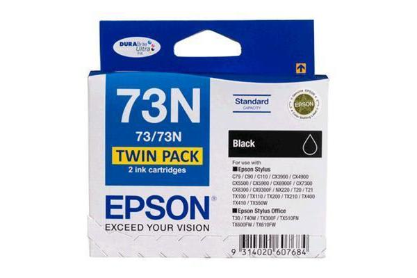 EPSON 73N Ink Cartridge & Paper Value Pack