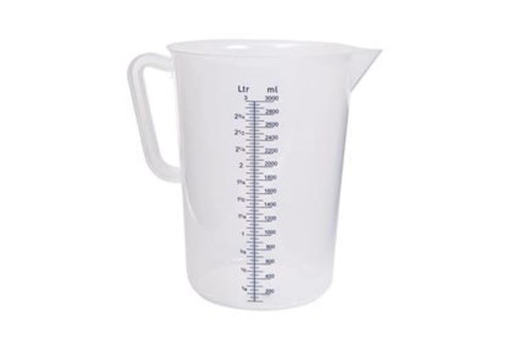 Plastic Polypropylene Measuring Jugs 3l