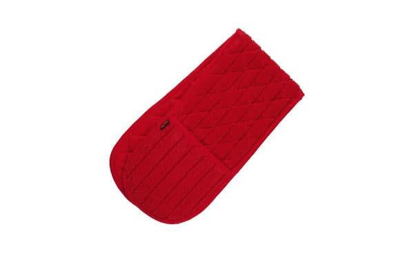 Ogilvies Designs Terry Double Ended Oven Mitt Red