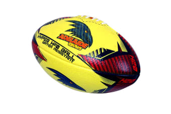 Summit Global AFL Hyper H20 Adelaide Crows Football/Rugby Training Sports Ball