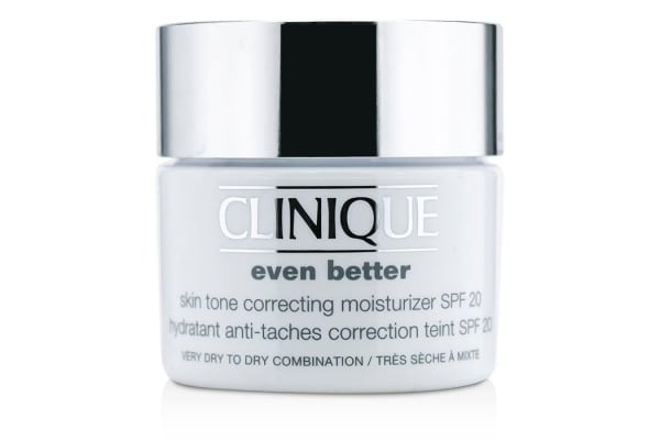 Clinique Even Better Skin Tone Correcting Moisturizer SPF 20 (Very Dry to Dry Combination) (Unboxed) (50ml/1.7oz)