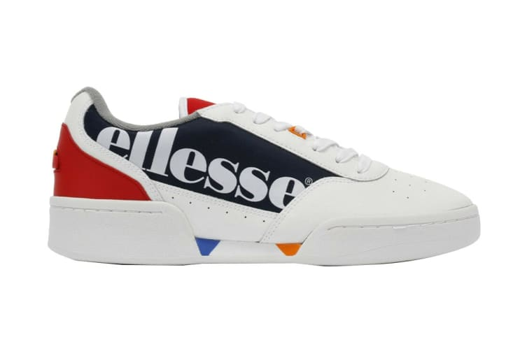 Ellesse Women's Piacentino Leather AF Shoe (White/Navy, Size 5 US)