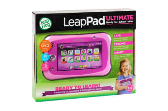 LeapPad Ultimate Tablet with Ready For School Bundle in Pink