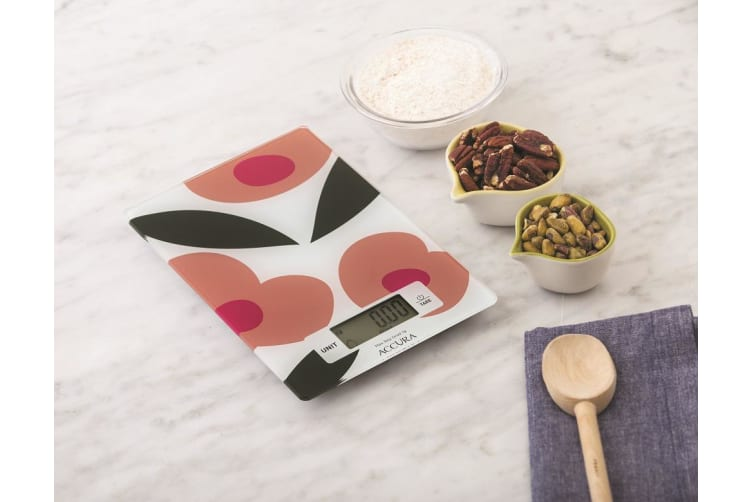 Accura Hypnos Electronic Kitchen Scale 5kg Flowers