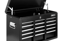 9 Drawers Tool Box Chest (Black)