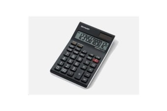 Sharp Calculator 12 Digit Semi Desktop Tax