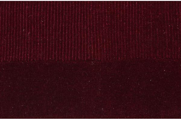 Cut and Loop Pile Rug Red 165x115cm