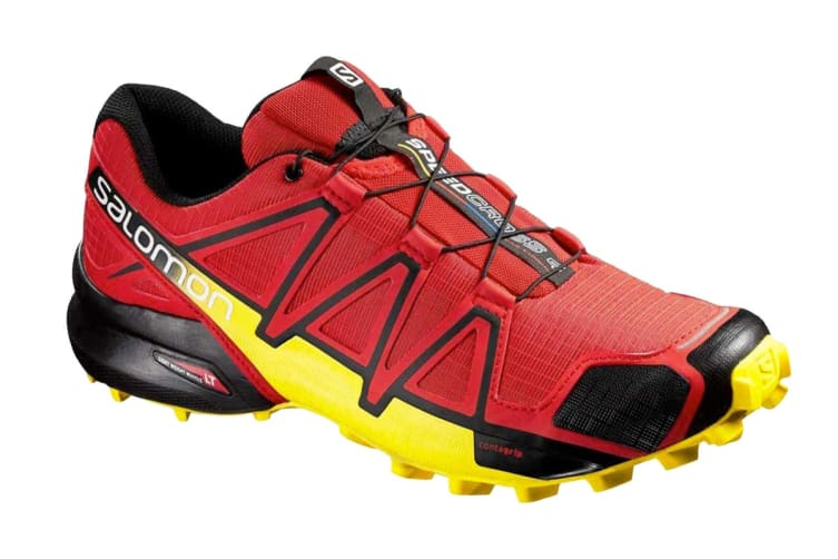Salomon Men's Speedcross 4 (Radiant Red/Black, Size 8)