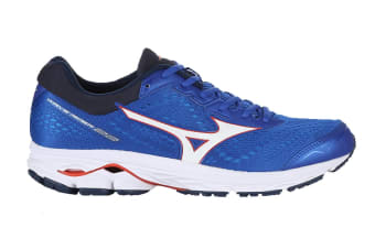 Mizuno Men's WAVE RIDER 22 Running Shoe (Blue, Size 10.5 US)