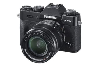 New Fujifilm X-T30 Mirrorless 26MP (18-55mm) Digital Camera Black (FREE DELIVERY + 1 YEAR AU WARRANTY)