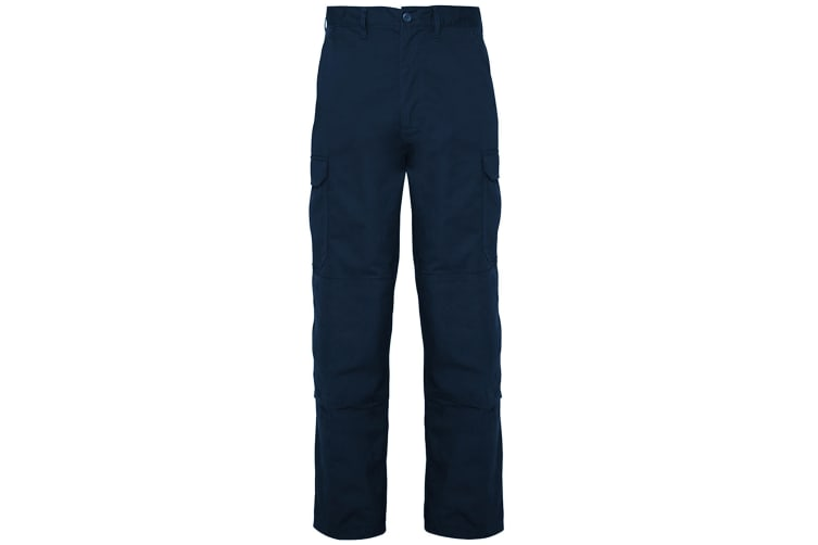 RTXtra Mens Classic Workwear Trousers (Navy) (4XL - Long)