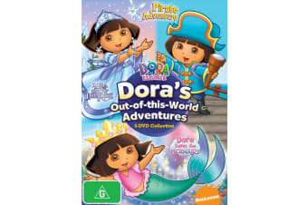 Dora the Explorer Doras Out of This World Adventures DVD Region 4