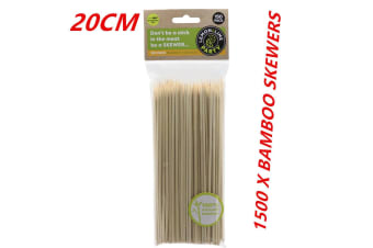 20CM Bamboo Skewers Wooden Skewer BBQ Kebab Meat Bulk Cheap Stick Party Catering