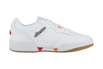 Ellesse Men's Piacentino 2.0 Leather AM Shoe (White, Size 13 US)