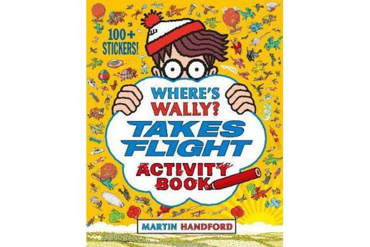 Where's Wally? Takes Flight - Activity Book