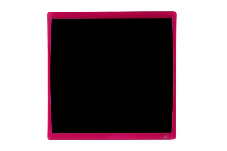 Quartet Basics Chalkboard 350x350mm Memo Notes Magnetic Board Learning Tool Pink