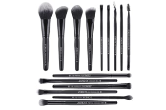 15Pcs Professional Makeup Brushes Set Foundation Eye Shadow Beauty Makeup Tool