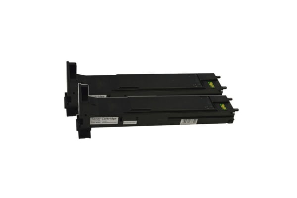 A06V193 Premium Generic Black Toner Cartridge (Two Pack)