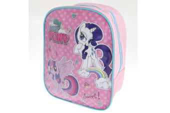 My Little Pony Childrens/Kids Mini Rucksack (Pink/Sky Blue) (One Size)