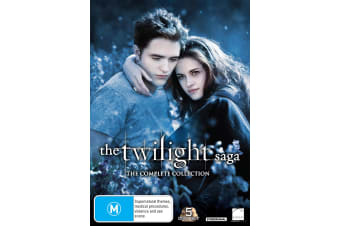 The Twilight Saga The Complete Collection Box Set DVD Region 4