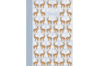 Wild Hares - 2020 Premium Diary Planner A5 Padded Cover Christmas New Year Gift