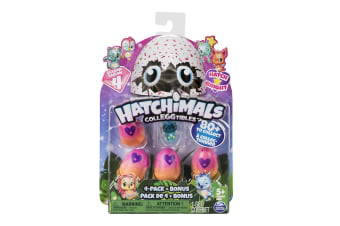 Hatchimals Colleggtibles 4 Pack with Bonus S4