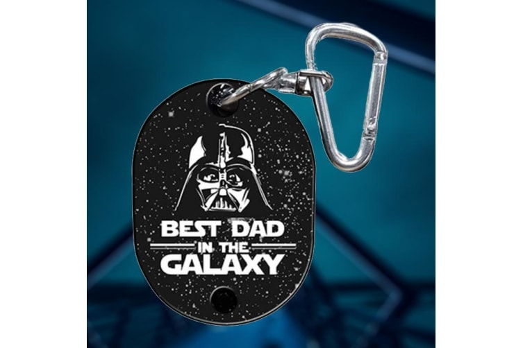 Star Wars Darth Vader Best Dad in the Galaxy Musical Keyring
