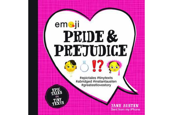 Emoji Pride and Prejudice - Epic Tales in Tiny Texts