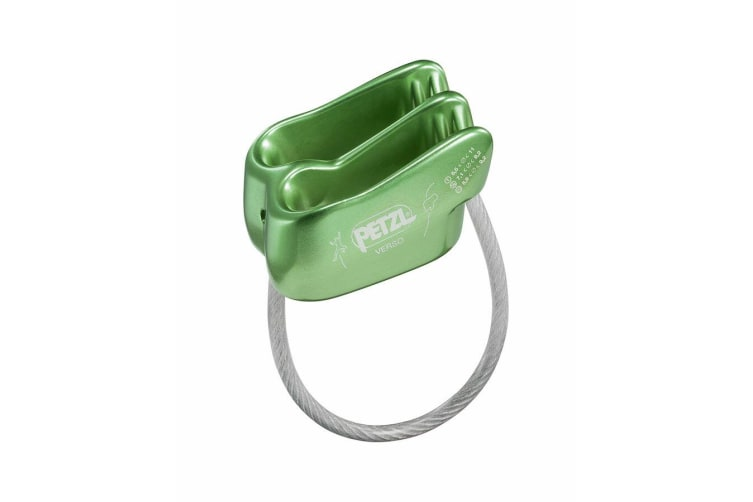 Petzl Verso Belay Devices Green