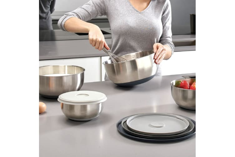 Joseph Joseph 100 Collection Stainless Steel Nest Prep And Store Bowls