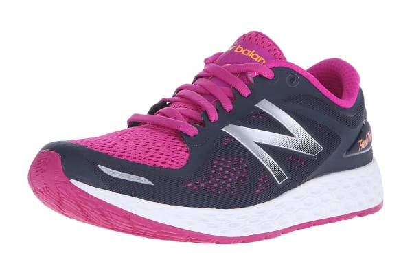 New Balance Women's Fresh Foam Zante v2 Running Shoes (Pink/Black, Size 9)