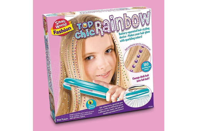 Top Chic Hair Jeweller Styling Device | Adds Rainbow Jewels to your Hair!