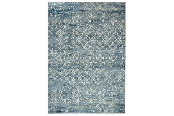 Faded Modern Multi Rug 280x190cm