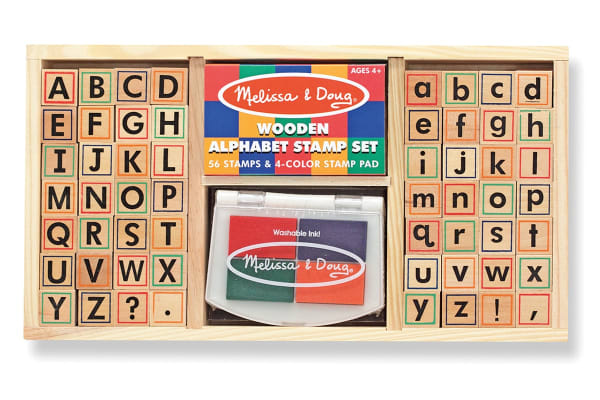 Melissa & Doug Alphbet Stamp Set