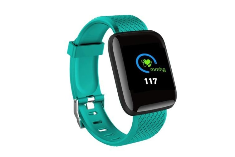 D13 Smart Watch Intelligence Bracelet Fitness Tracker Heart Rate Blood Pressure Monitor Smart Band IP67 Waterproof Sports USB Charging for Android iOS blue