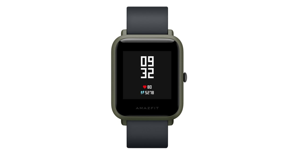 dick smith xiaomi huami amazfit bip kokoda green