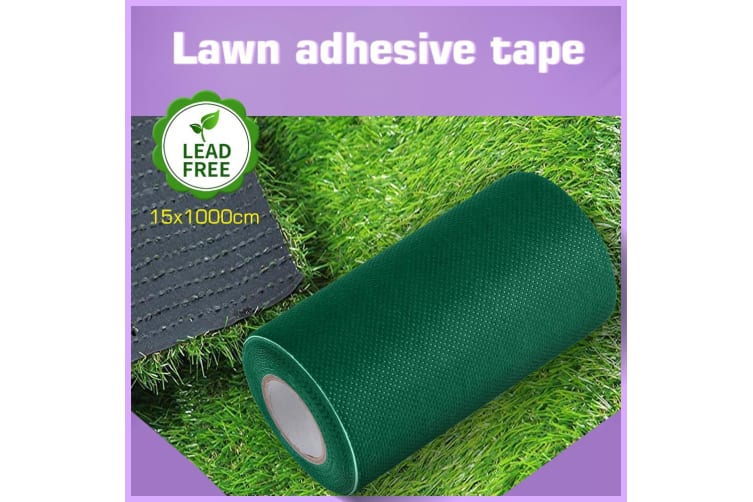 1 Roll 10Mx15cm Self Adhesive Artificial Grass Fake Lawn Joining Tape