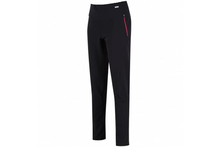 Regatta Womens/Ladies Pentre Stretch Trousers (Black) (14 Short Leg)