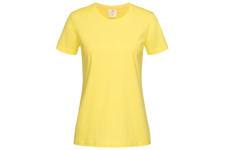Stedman Womens/Ladies Classic Tee (Yellow) (M)