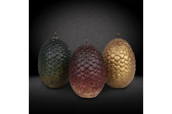 Official Game of Thrones Daenerys` Dragon Eggs Candles Set of 3