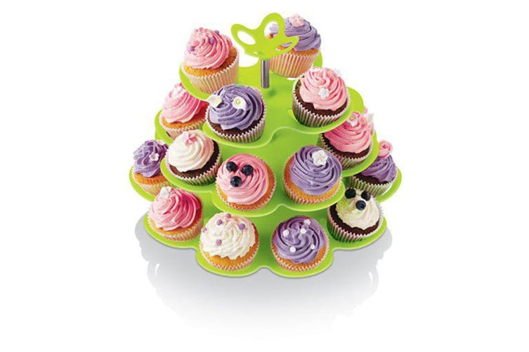 Zeal Fairy Lime Cupcake Stand