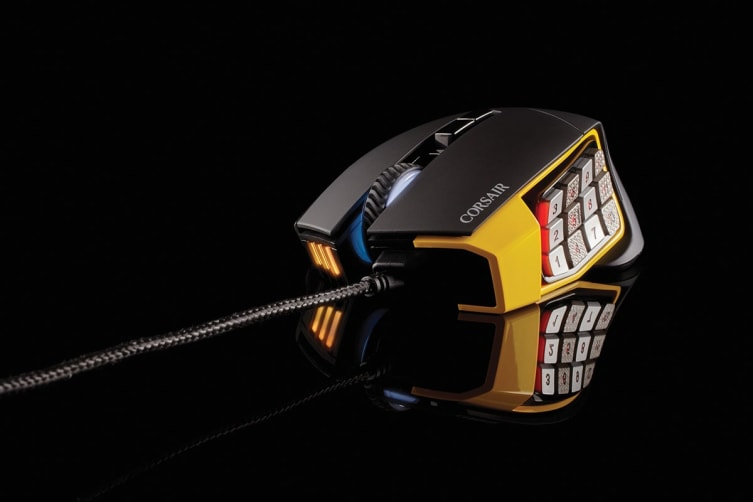 Corsair Gaming Scimitar Pro RGB Gaming Mouse (Yellow)